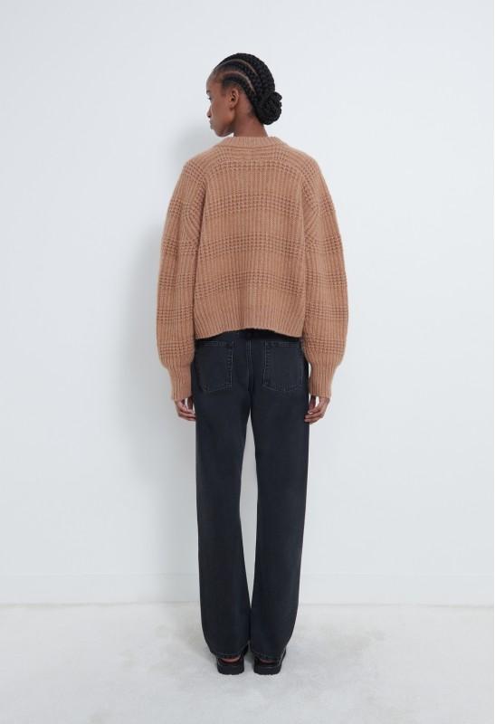 LINOSA Sweatshirt Cachemire à Capuche